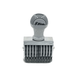 Dấu số Shiny 10 số cao 4mm N410 Number stamp