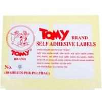 Nhãn dán decal Tomy số No.120 Self Adhesive Lables
