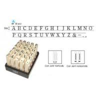 Dấu ráp chữ Toyoda No.2 Multi Joint Alphabet 6mm Rubber Stamp