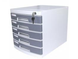Tủ đựng giấy A4 5 ngăn Deli Multifiling Cabinet 8855