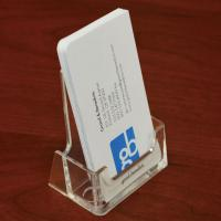 Mica đựng Card Visit 1 ô card đứng Acrylic Business card Holder, BB10