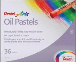 Phấn dầu Pentel Arts Oil Pastels PHN-36, 36 Color Set