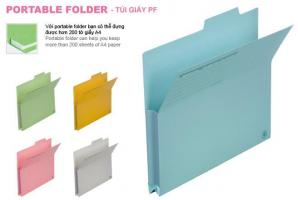 Túi giấy Plus PF A4E Portable Folder 061PF