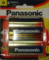 Pin Panasonic Alkaline đại LR20T/2B Battery